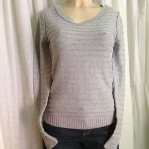 Mossimo Supply Co. Sweater S/P Gray Pull Over